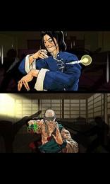 Screenshot von Der Kung Fu Todesgriff für unterwegs! In diesem hektischen Action-Spiel rauchst du präzises Timing und tödliche Gesten.