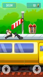 Screenshot von Hier kommt die Eisenbahn! Renne, so weit du kannst, und schließe alle Erfolge ab!