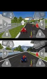 Screenshot von Das Rennen kann beginnen. Wähle deinen Wagen, starte die Motoren und genieße den Fahrtwind!