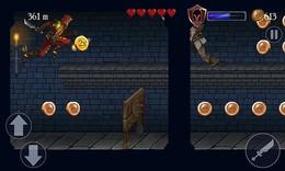 Screenshot von Erkämpfe dir den Weg durch ein riesiges Schloss voller Gold und Feinde!