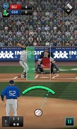 Screenshot von Einfaches Baseball-Spiel mit Suchtfaktor!