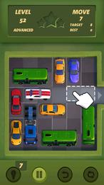 Screenshot von Lenke dein eingeparktes Auto mit geschickten Zügen vom Parkplatz.