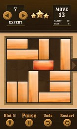 Screenshot von Unblock Now ist ein Knobelspiel mit verschiedenen Schwierigkeitsstufen und anspruchsvollen Levels.