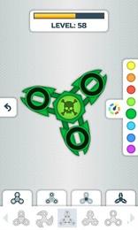 Screenshot von Bau mit unseren Fidget Spinners Stress ab und sammle das komplette Sortiment!