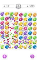 Screenshot von Glänzende, bunte Blasen warten darauf, verbunden zu werden!