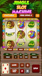 Screenshot von Versuche dein Glück an den Spielautomaten mit einem Bonusspiel und Extrarunden.