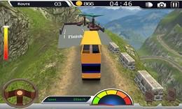 Screenshot von Sie lieben es, Fahrsimulationsspiele zu spielen? Bist du Busse? Wenn ja, dann Mountain Drive ist ein Bus Simulator Spiel, das Sie lieben werden.