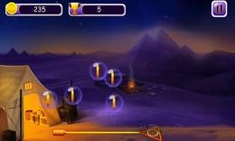Screenshot von Verwenden Sie Klatsch, um gefährlichen Strom von Skarabäus zu betreten, der in Ihr Zelthaus eintritt!