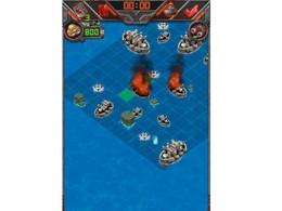 Screenshot von Erstaunliche und lustige Schlacht Spiel. Schieße deine Gegner mit Torpedos, Dreifachbomben oder Luftangriffen aus dem Himmel. Holen Sie sich kühle Belohnungen bei der Suche nach Schätzen.