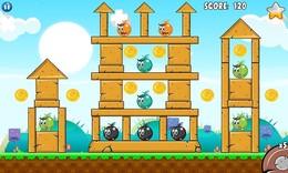 Screenshot von Erstaunliches, lustiges und süchtig machendes Physikspiel. Kühle Grafiken und süße Blasen, mach das eine Explosion zu spielen. 28 Levels Spaß Spiel spielen.