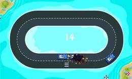 Screenshot von Du spielst als Autodieb - komm nicht mit dem Polizeiauto!