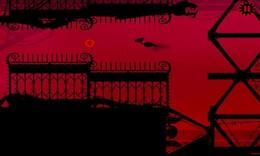 Screenshot von Red Game Without a Great Name ist ein herausforderndes 2D Arcade-Spiel, wo Sie spielen als ein mechanischer Vogel, der eine feindliche Steampunk Welt durchquert.
