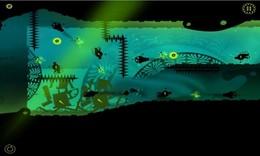 Screenshot von Eine herausfordernde 2D Arcade-Spiel, wo Sie sind ein Meister der Zeit.