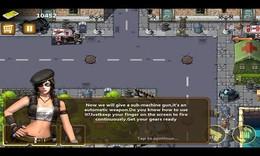 Screenshot von Hilf den Menschen, gegen die Zombies zu kämpfen.