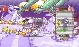 Screenshot von Lade deine Waffen! Regen den Tod von oben! Schütze deine wertvollen Waisen! Besiege riesige, unwahrscheinliche Bosse!
