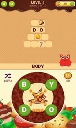 Screenshot von Finden Sie alle Wörter, um Süßigkeiten für Mr. Süßigkeiten zu entsperren!
