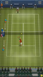 Screenshot von Lauf über den Platz, schwing deinen Schläger und schlag den Ball übers Netz! Spiele Pro Tennis 2018!