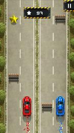 Screenshot von Brich Geschwindigkeitsrekorde auf dem Highway oder steuere zwei Autos gleichzeitig!