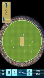 Screenshot von Ein einfaches Cricket-Spiel mit Suchtfaktor! Jetzt mit neuen Funktionen!