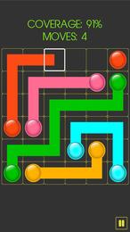 Screenshot von Das ultimative 2-in-1-Spiel mit den Spiele-Highlights Game of Flows und Run Monster Run.