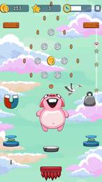 Screenshot von Springe so hoch wie möglich und sammle alle springenden Tiere.