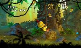 Screenshot von Müde von allen Arten von Vögeln in einer schlechten Stimmung? Vielleicht sogar die, die wütend sind? Vergesst Angry Birds oder ähnliches! Chicken Blast ist da!