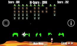 Screenshot von Space Bug Invaders bringt das einfache Spiel zurück, das Spaß macht und süchtig macht.