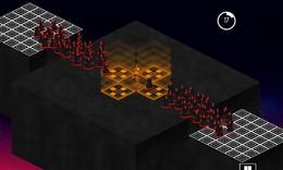 Screenshot von The Light Inside Us ist ein abstraktes Action / Strategiespiel in einer isometrischen Welt, in der Licht empfindungsfähig ist.