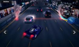 Screenshot von Fahre Rennen durch die nächtlichen Straßen einer Metropole. Die Polizei ist leider kein Fan davon!