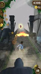 Screenshot von Laufe um dein Leben und umgehe Hindernisse. Sammle Münzen, steigere Power-ups und erfülle Aufgaben.