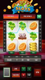 Screenshot von Möchtest du dein Glück versuchen? Tolle Grafiken und große Gewinne! Gewinne so viel du möchtest. Spiele an einem echten Spielautomaten  genau wie in Las Vegas.