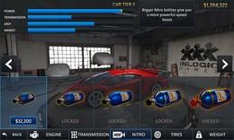Screenshot von Fahre in illegalen Straßenrennen gegen deine Gegner aus den Renn-Clans. Gewinne Geld, neue tolle Autos und besorg dir die besten Upgrades.