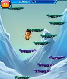 Screenshot von Erlebe göttlich mit einem neuen Touch-Arcade-Spiel Chhota Ganesh Jump, Es ist Zeit für Lord Ganesh, die Erde nach seinen Segnungen zu verlassen und ein Teil dieser schnellen Phase zu sein.