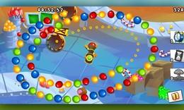 Screenshot von Im Land der Einhörner zählt nur eines:  Süßigkeiten. Wenn also auch dich beim Gedanken an Bonbons, Kekse und Schokolade der Schüttelfrost packt, dann wird es Zeit, das Spiel Candy Pop Saga zu starten. Das ist das Paradies für Zucker-Fans!