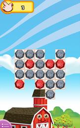 Screenshot von Starte das Spiel Diamond Clash, und überzeuge dich davon, dass es eine Farm gibt, die anders ist als die anderen. Hier findest du kein Obst und Gemüse, sondern.... Diamanten!