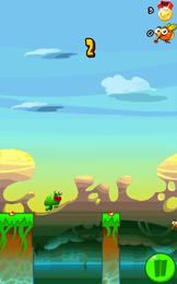 Screenshot von Haben Sie gewusst, dass Frosche Risiko lieben? Starten Sie das Spiel Stick Frog und überzeugen Sie sich mit eigenen Augen, was Lurche treiben, wenn sie glauben, unbeobachtet zu sein.