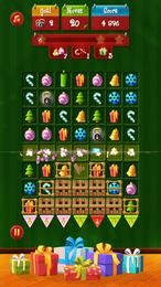 Screenshot von Schon in Weihnachtsstimmung? Das klassische zugbasierte Kombinationsspiel erwartet dich mit Weihnachtsdekorationen!