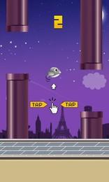 Screenshot von Kommen Sie und probieren Sie, wie lange Ihr Vogel fliegen kann!